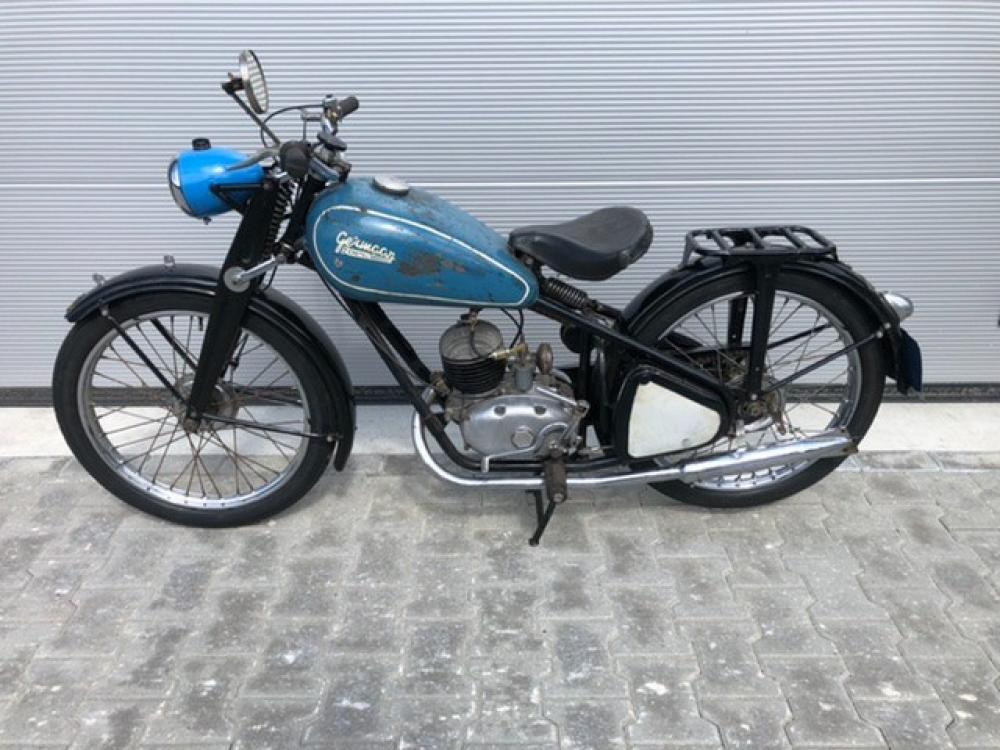 Germaan csepel 125cc 1949