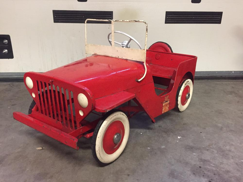 willy jeep triang pedalcar